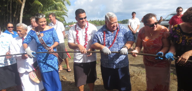 Tui-Samoa submarine network lands in Apia, enhancing broadband connectivity across the Pacific islands